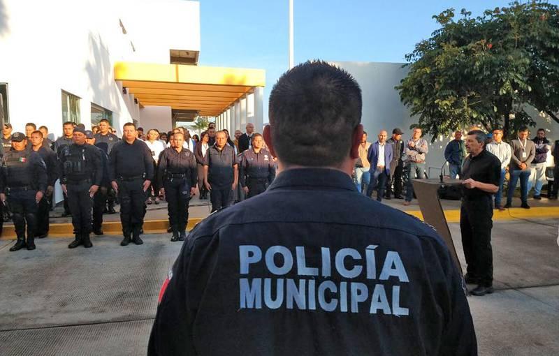 Elementos de la Policía de Tlajomulco de Zúñiga