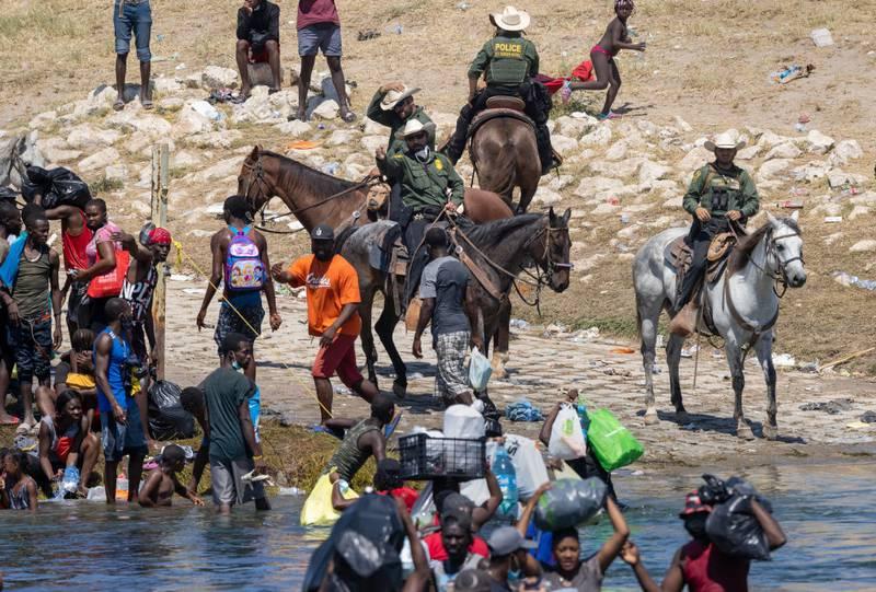 Expulsión de migrantes en Texas