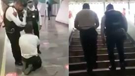 Persona que se hacía pasar por discapacitado para pedir dinero, logra caminar
