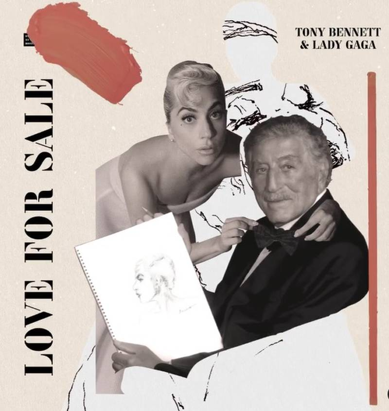 Lady Gaga y Tony Bennett lanzarán el disco 'Love For Sale'