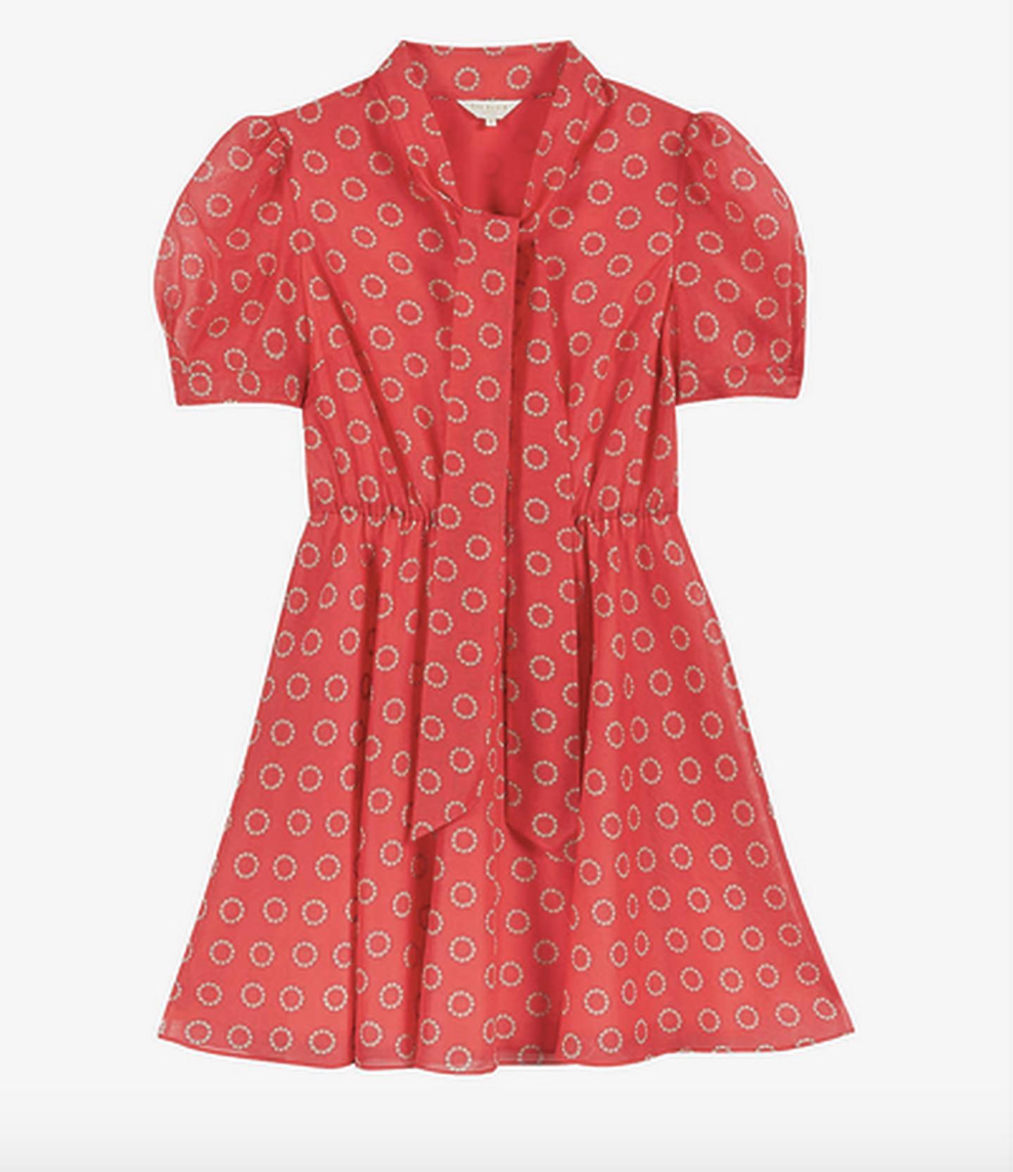 El vestido Ted baker que usó Mariana Rodríguez