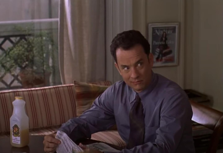 Tom Hanks y Meg Ryan protagonizaron el filme