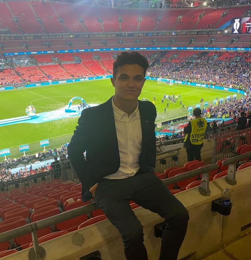 Roban reloj a Lando Norris en la final de la Eurocopa