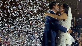 Gina Holguín y Andrés Vaca, las fotos de la boda religiosa