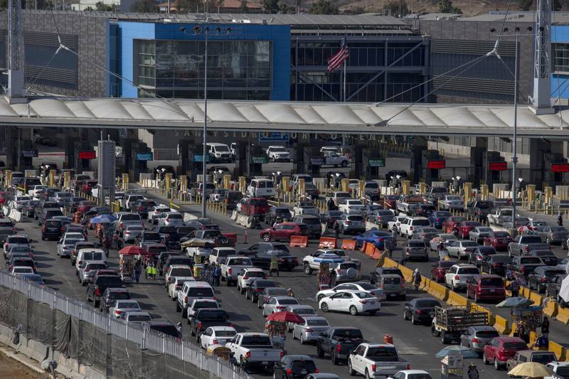 Cierre frontera con México