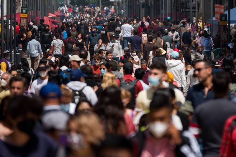 Aglomeraciones en Ciudad de México.
