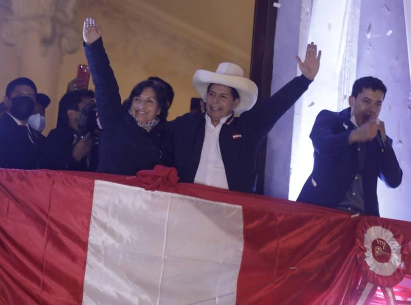 Perú: Pedro Castillo se proclama como nuevo presidente