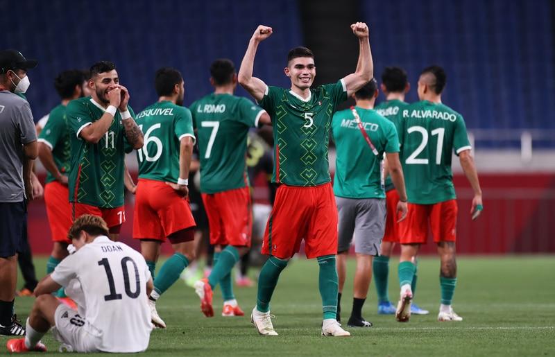 México celebra la medalla de bronce | Getty Images