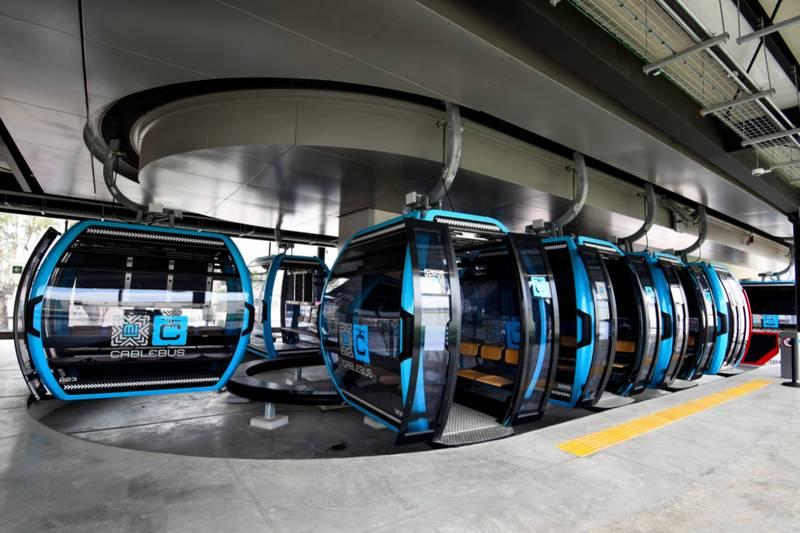 La Línea 1 del Cablebús está en la alcaldía Gustavo A. Madero.