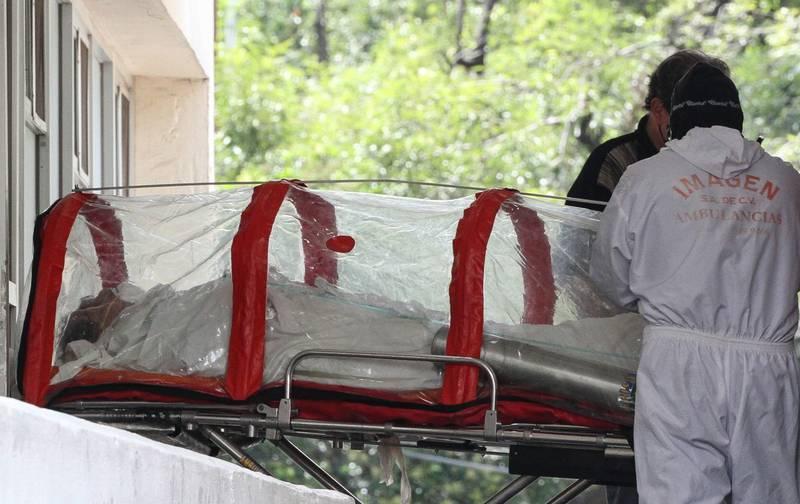 Existe también un repunte en hospitalizaciones en México FOTO: ROGELIO MORALES /CUARTOSCURO.COM