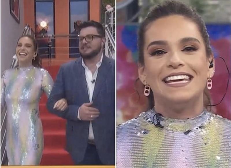 Tania Rincón llega a Hoy