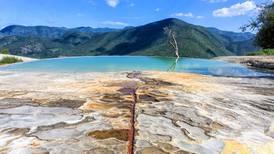 Cascadas de Hierve el Agua reciben otra vez a turistas en medio de conflicto comunero