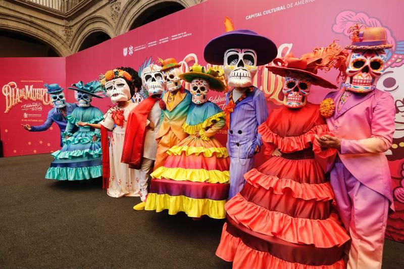 La ruta del Desfile Internacional del Día de Muertos iniciará en el Zócalo de la ciudad.