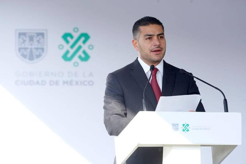 Omar García Harfuch, titular de la Secretaría de Seguridad Ciudadana.