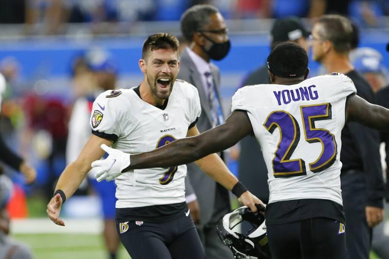 Justin Tucker convierte el gol de campo más largo de la historia de la NFL