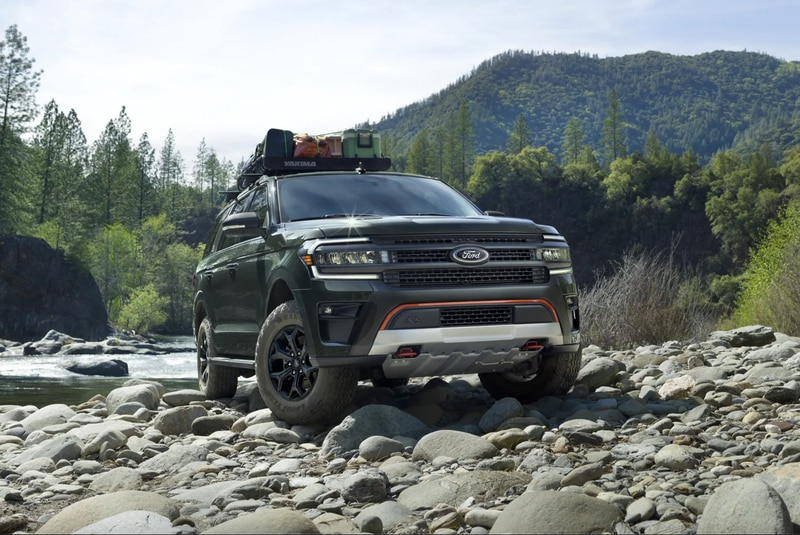 Ford Expedition 2022 Timberland Series