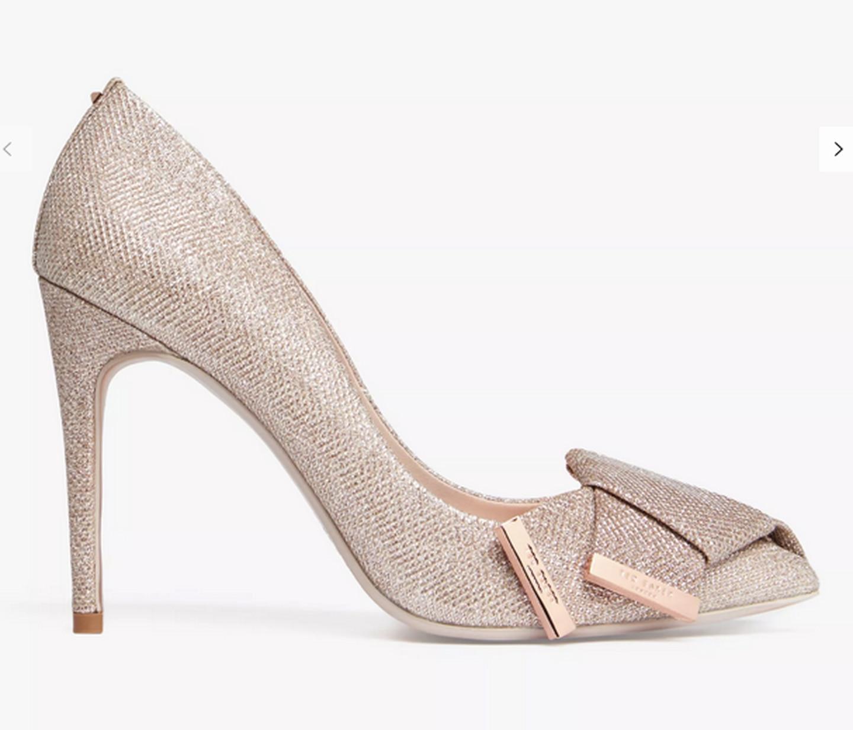 Zapatos Ted baker que usó Mariana Rodríguez