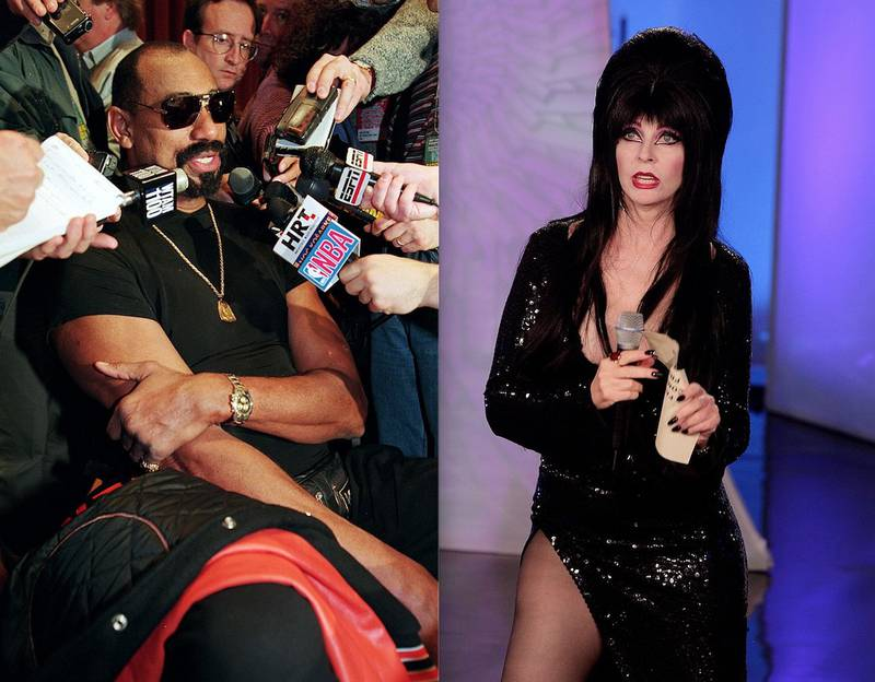 Cassandra Peterson o Elvira acusó a Wilt Chamberlain de haberla agredido sexualmente hace años en una fiesta