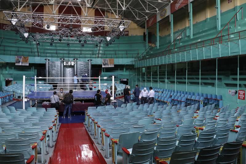 Arena Puebla reabre sus puertas con nuevos protocolos