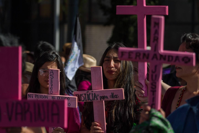 Feminicidios en México.