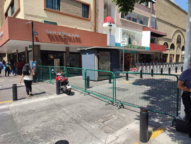Esta tarde autoridades municipales realizan recorridos de supervisión para garantizar un paso seguro de la virgen la mañana de este martes.