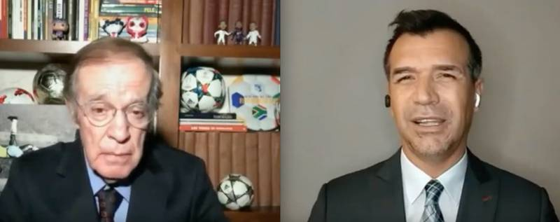 Los ánimos se calentaron durante el programa del domingo de Futbol Picante entre José Ramón Fernández y Jared Borgetti