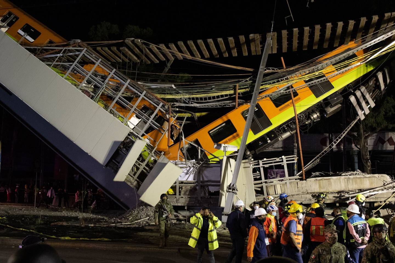 El colapso en la Línea 12 del Metro dejó como saldo 26 personas muertas.