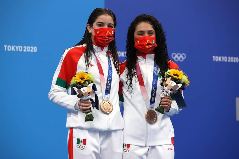 Alejandra Orozco y Gabriela Agúndez   Getty Images