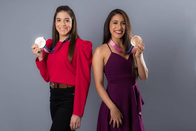Las medallistas olímpicas en Tokio 2020, Alejandra Orozco y Gabriela Agúndez, reconocieron que están felices por estar nominadas al Premio Nacional y Estatal de Deportes