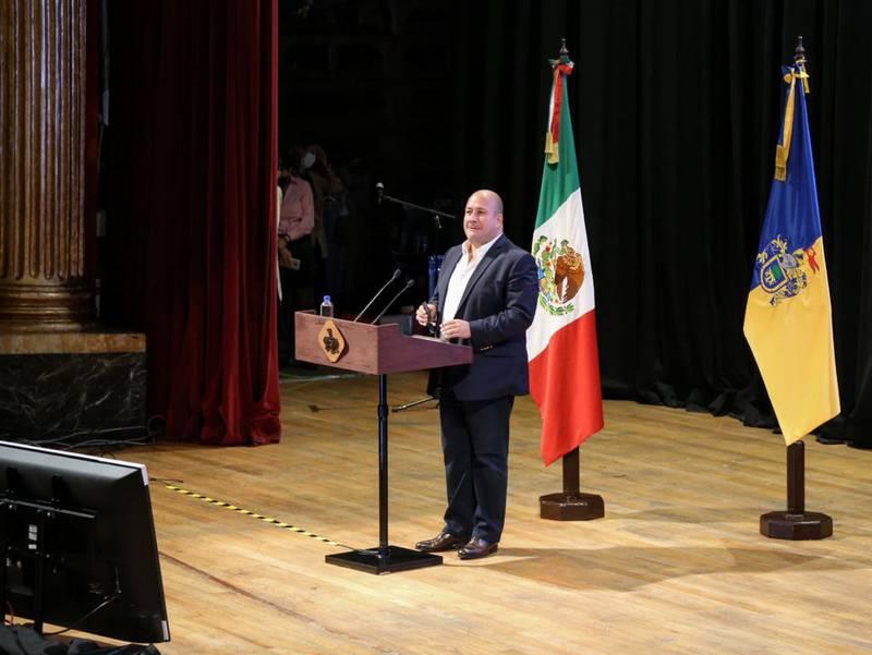Alfaro destacó que a pesar de ser el cuarto estado que más contribuye a la economía del país, es de los que menos recibe al momento de definir el presupuesto.
