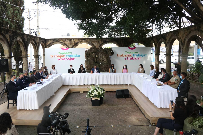 Presentación de Gabinete de Juan José Frangie