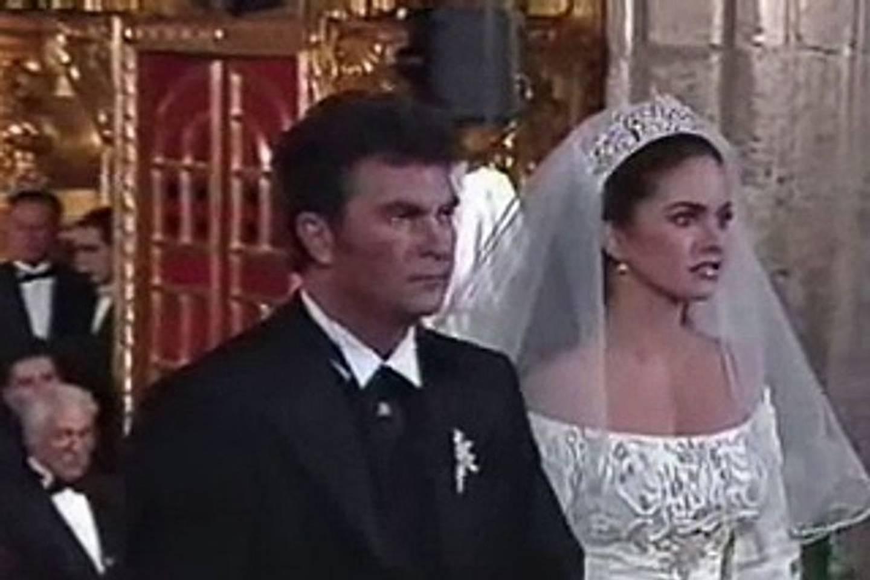 La boda religiosa fue televisa por las cámaras de Televisa