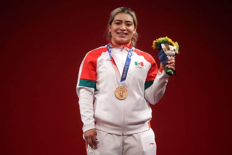 ¿Quién es Aremi Fuentes, la nueva medallista de México en Juegos Olímpicos?
