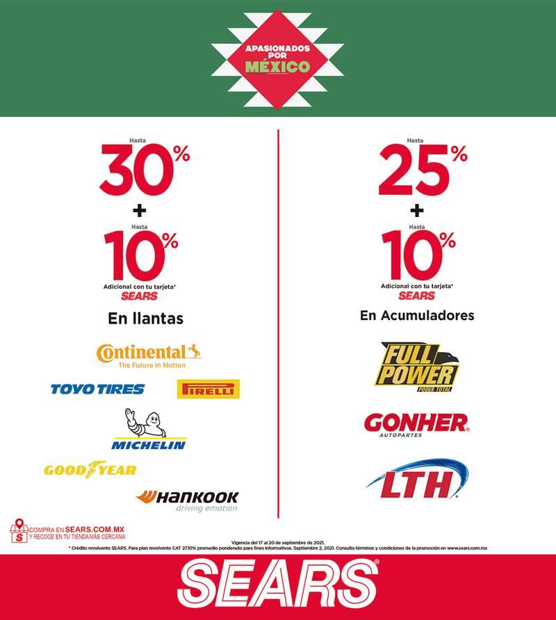 Anuncio Sears edición CDMX del 17 de Septiembre del 2021, Página 16