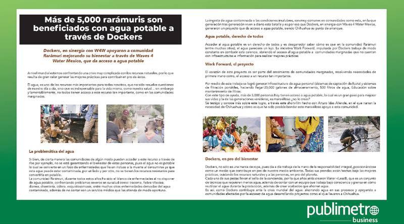 Anuncio Dockers edición CDMX del 20 de Septiembre del 2021, Página 8