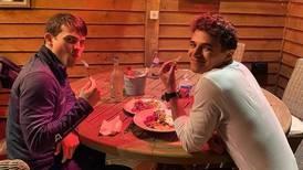 Lando Norris invitó a cenar a Patricio O'Ward y compartió la foto
