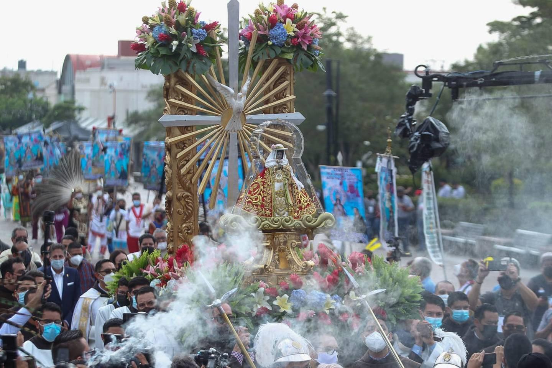 No se reportaron incidentes de gravedad durante la festividad religiosa.
