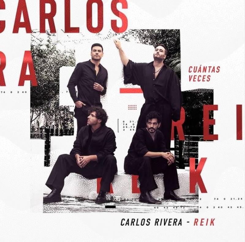 Carlos Rivera y Reik se unieron para un tema sublime que desgarra el alma en el que los artistas dejan todos sus sentimientos en cada nota.