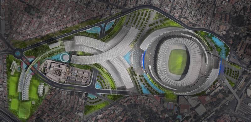 Televisa, dueña del Estadio Azteca planea un proyecto para construir todo un complejo inmobiliario en los alrededores del coloso