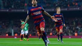Dani Alves: Si el Barça me necesita, solo tiene que llamarme