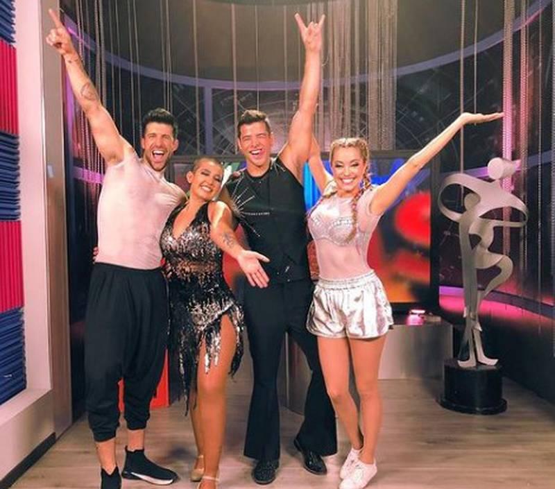 El reality show Las estrellas bailan en Hoy llega a su final.