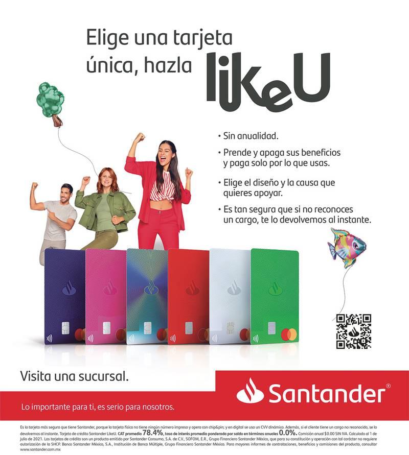 Anuncio Santander edición CDMX del 21 de Septiembre del 2021, Página 16