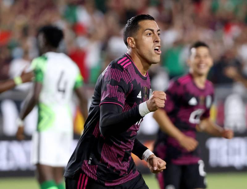 Funes Mori desea jugar con el Chicharito en el Tricolor