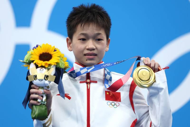 Clavadista Quan Hongchan rechaza dinero, casa y regalos