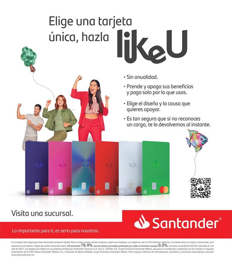 Anuncio Santander edición CDMX del 17 de Septiembre del 2021, Página 3