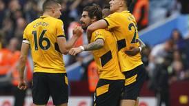 Wolverhampton firma una épica remontada ante el Aston Villa